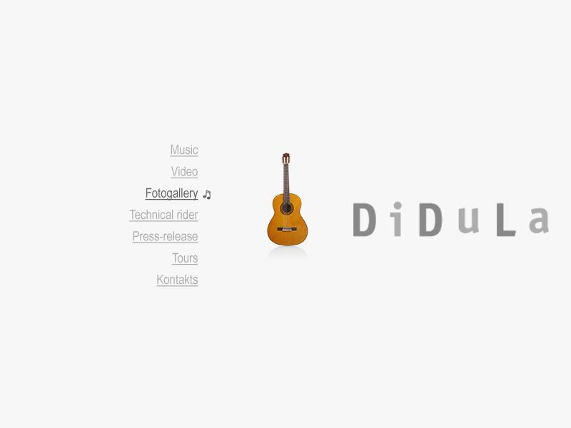 специальный музыкальный проект гитариста ДиДюЛя для европейской аудитории