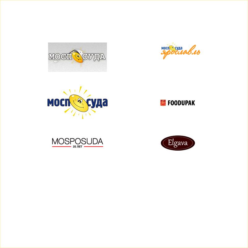 Web Compositions: Логотипы для компании Моспосуда